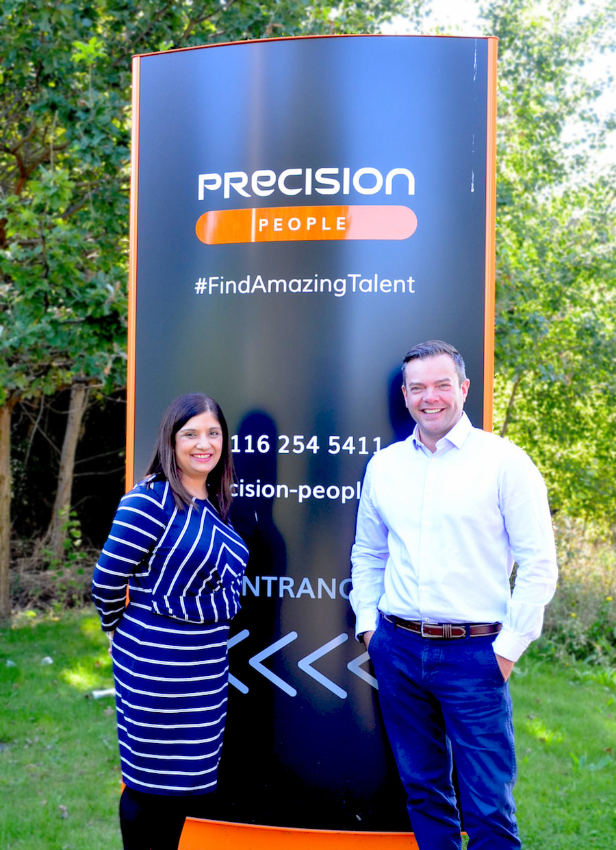 Precision Executive Search Recruitment Director Phil Walker & Sandy Seta